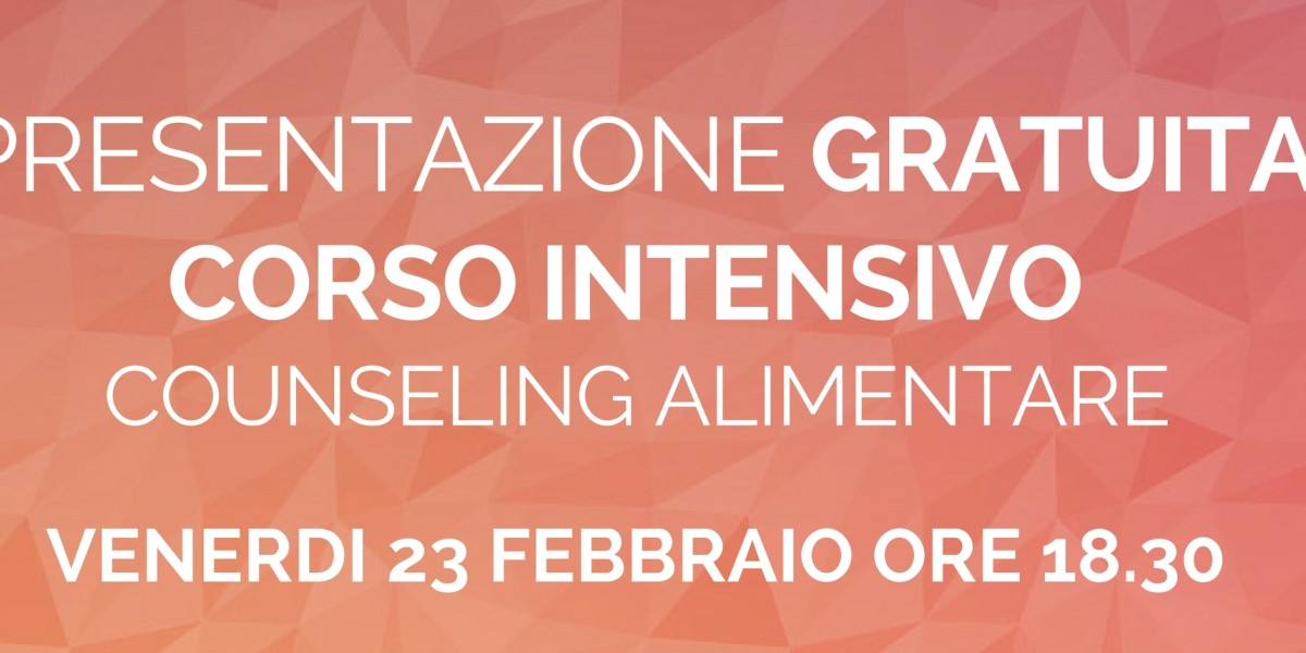counseling alimentare